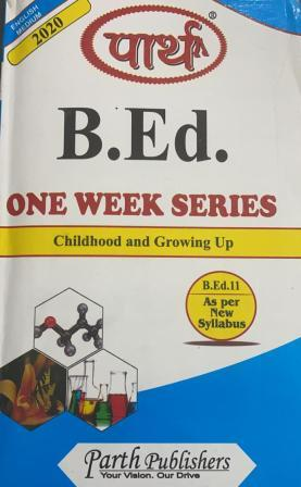 Childhood And Growing Up (Question-Answer Series) One Week Series  - Online Book Mart