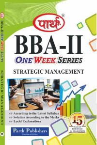 Strategic Management (Question-Answer Series) One Week Series (Syllabus-Rajasthan University)