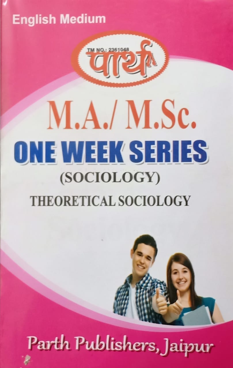 Theoretical Sociology (Question-Answer Series) One week Series