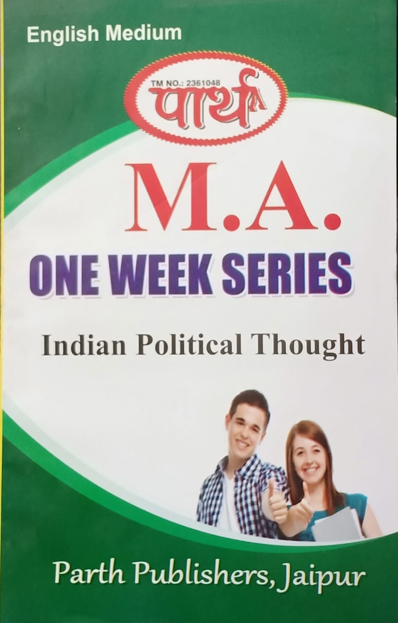 Indian Political Thought  - Online Book Mart