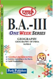 Geography of India (Question-Answer Series) One Week Series  - Online Book Mart