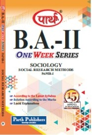 Social Research Methods (Question-Answer Series) One week Series
