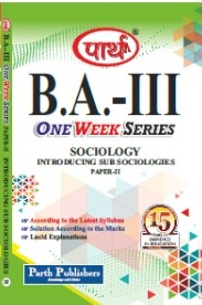 Introduction of Sub-Sociology (Question-Answer Series) One week Series