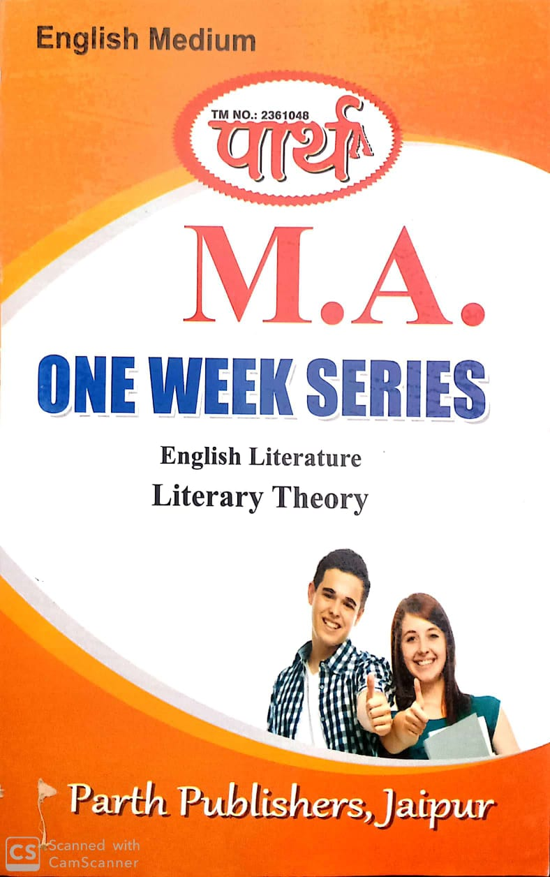 Literacy Theory for MA English Literature Rajasthan University