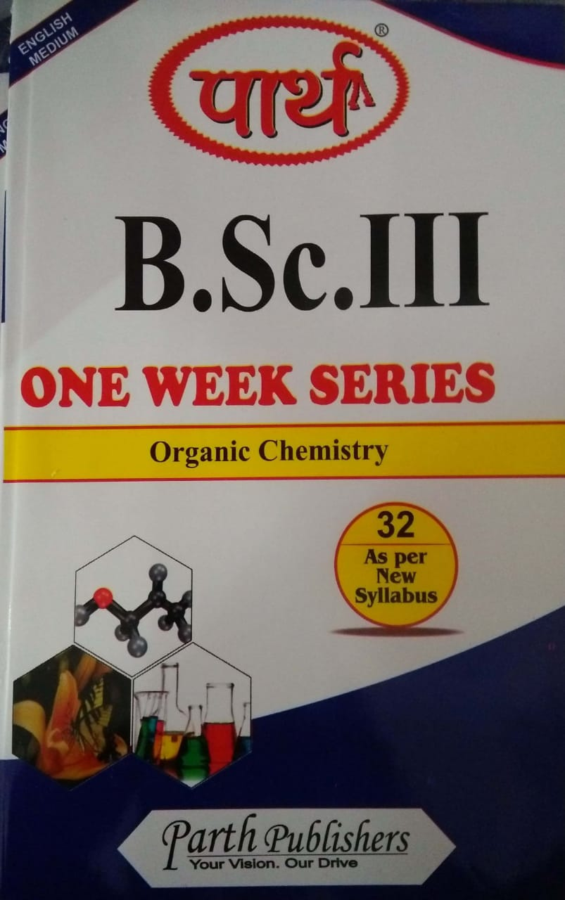 Organic Chemistry BSC 3rd Year