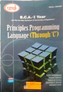 Principle Programming Language  - Online Book Mart