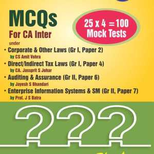 MCQ for CA Inter Exam  - Online Book Mart
