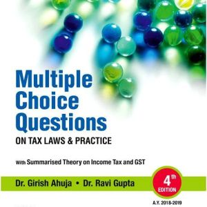 Multiple Choice Question on Direct Taxes Laws & International Taxation