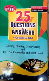 Drafting,Pleading,Conveyancing and Pre Trial Preparation and Moot Court