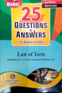 Law of Torts  - Online Book Mart