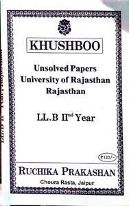 Unsolved Paper - LLB 2nd Year