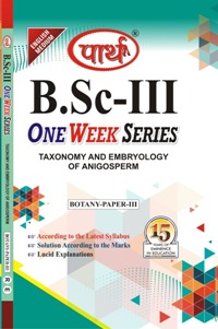 Taxonomy and Embryology of Angiosperm (Question-Answer Series) One Week Series  - Online Book Mart